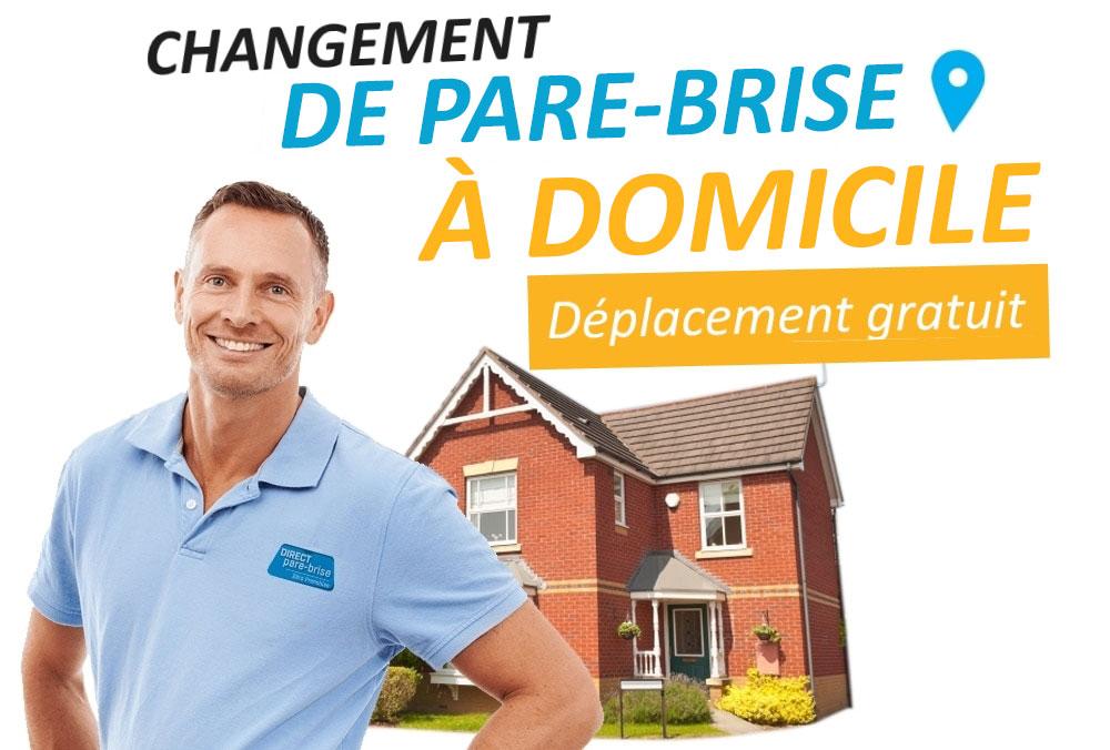 Changement de pare-brise à domicile en Normandie